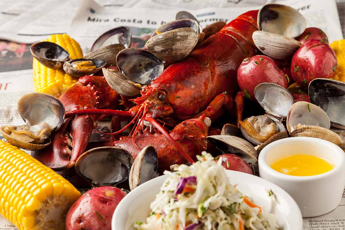 clam bake meal