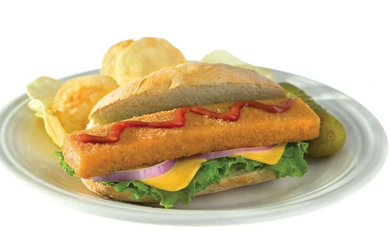 Hoagie Style Fish Portion