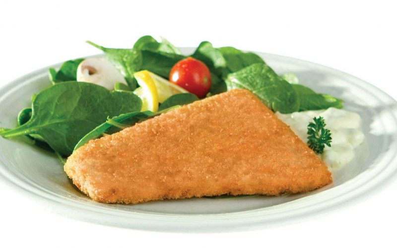 Potato Breaded Fish Wedges