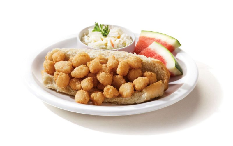 breaded scalloped hoagie