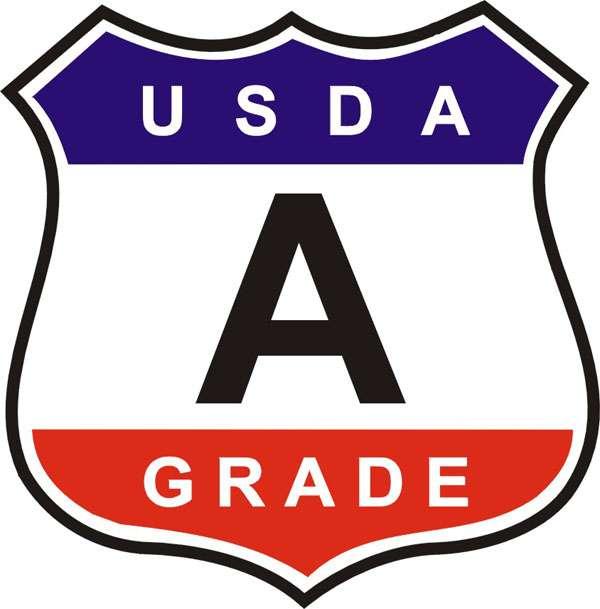 USDA A Grade Emblem