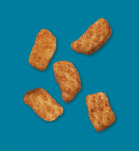 Nugget Fish Shape